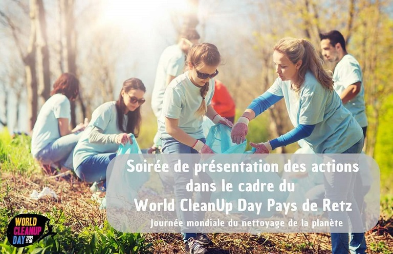 Réunion Info – World CleanUp Day 2019 – Pays de Retz – 11 sept 20h
