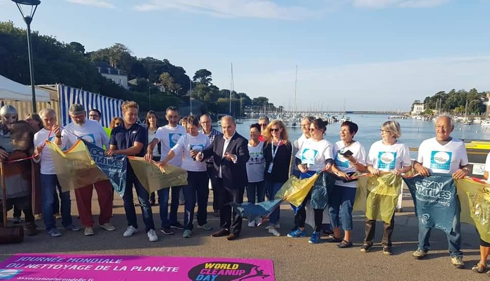 Notre parrain du World Clean Up Day Pays de Retz 2019 sélectionné  pour les J.O 2020 !